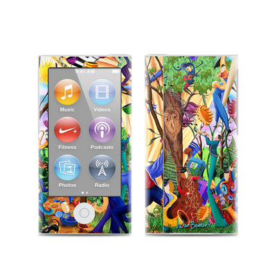 Apple iPod Nano (7G) Skin - Happy Town Celebration