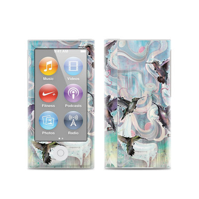 Apple iPod Nano (7G) Skin - Hummingbirds
