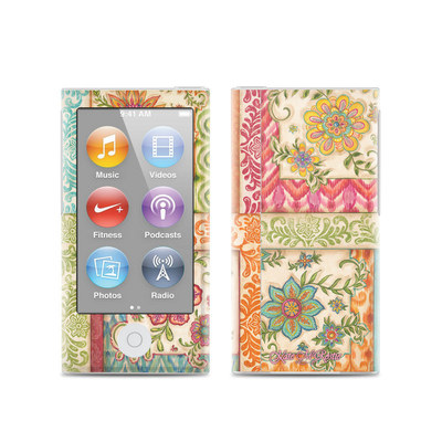 Apple iPod Nano (7G) Skin - Ikat Floral