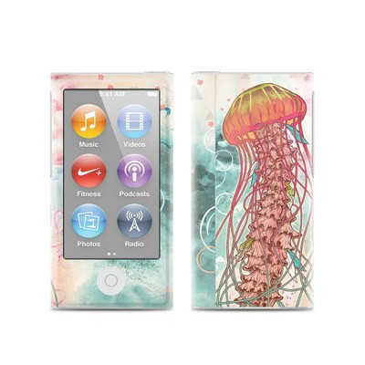 Apple iPod Nano (7G) Skin - Jellyfish