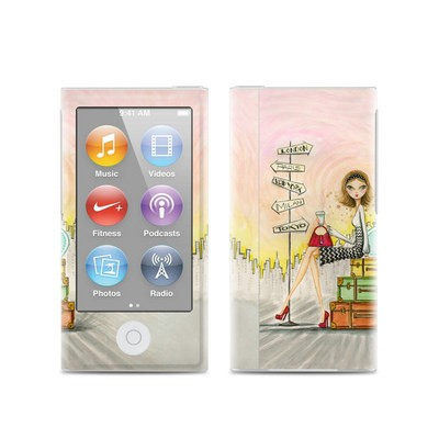 Apple iPod Nano (7G) Skin - The Jet Setter