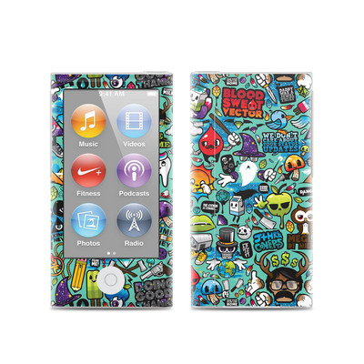 Apple iPod Nano (7G) Skin - Jewel Thief
