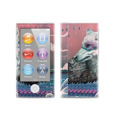 Apple iPod Nano (7G) Skin - Lone Wolf