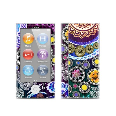 Apple iPod Nano (7G) Skin - Mehndi Garden