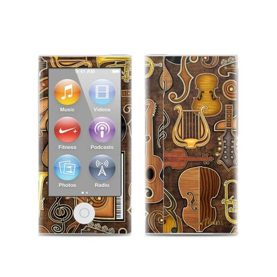Apple iPod Nano (7G) Skin - Music Elements