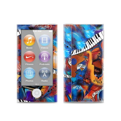 Apple iPod Nano (7G) Skin - Music Madness