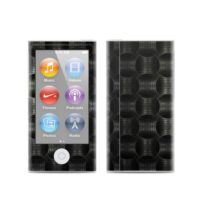 Apple iPod Nano (7G) Skin - Metallic Weave