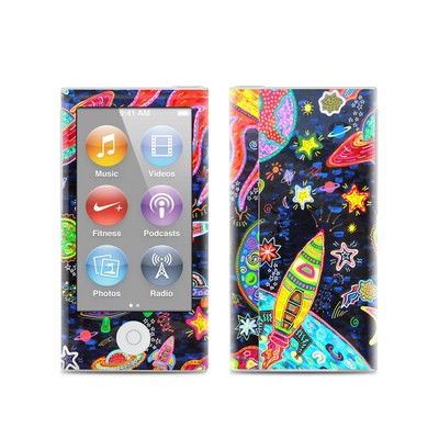 Apple iPod Nano (7G) Skin - Out to Space