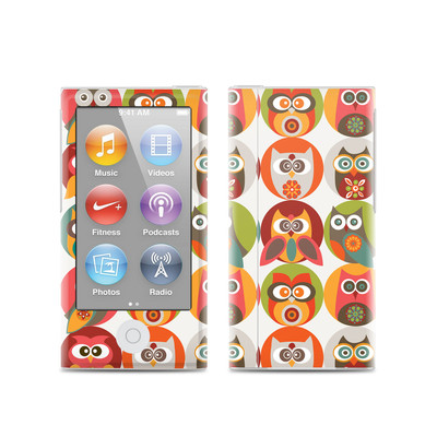 Apple iPod Nano (7G) Skin - Owls Family