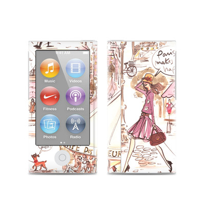 Apple iPod Nano (7G) Skin - Paris Makes Me Happy