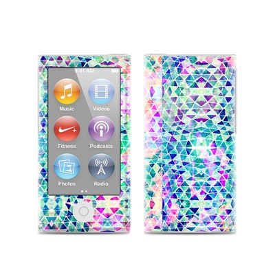 Apple iPod Nano (7G) Skin - Pastel Triangle