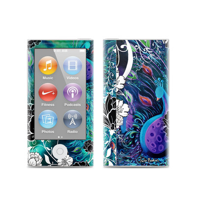Apple iPod Nano (7G) Skin - Peacock Garden