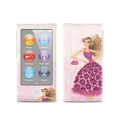 Apple iPod Nano (7G) Skin - Perfectly Pink