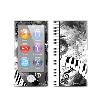 Apple iPod Nano (7G) Skin - Piano Pizazz