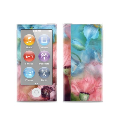 Apple iPod Nano (7G) Skin - Poppy Garden