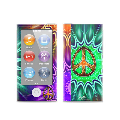 Apple iPod Nano (7G) Skin - Peace Triptik