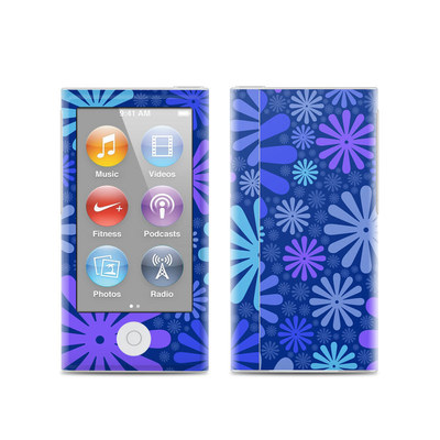 Apple iPod Nano (7G) Skin - Indigo Punch