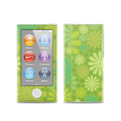 Apple iPod Nano (7G) Skin - Lime Punch