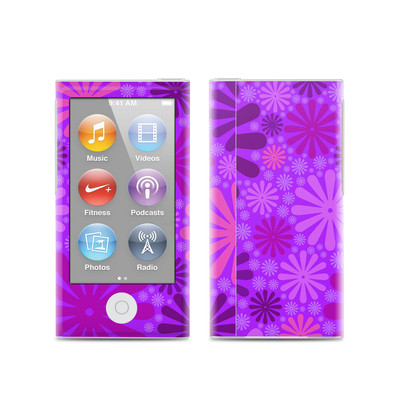 Apple iPod Nano (7G) Skin - Purple Punch