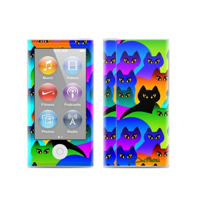 Apple iPod Nano (7G) Skin - Rainbow Cats