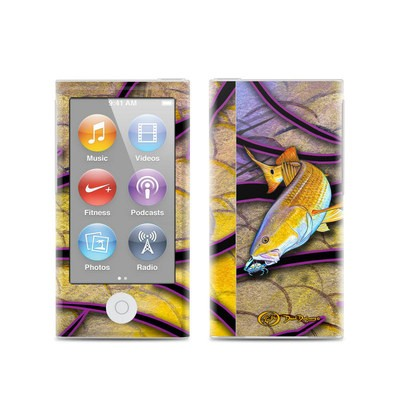 Apple iPod Nano (7G) Skin - Red Fish