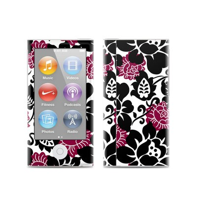 Apple iPod Nano (7G) Skin - Rose Noir