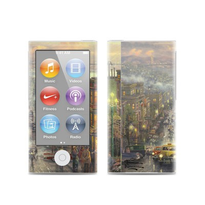 Apple iPod Nano (7G) Skin - Heart of San Francisco