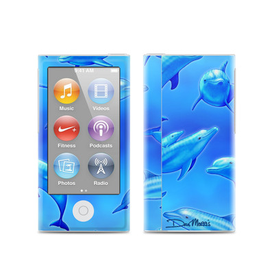 Apple iPod Nano (7G) Skin - Swimming Dolphins