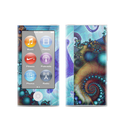 Apple iPod Nano (7G) Skin - Sea Jewel