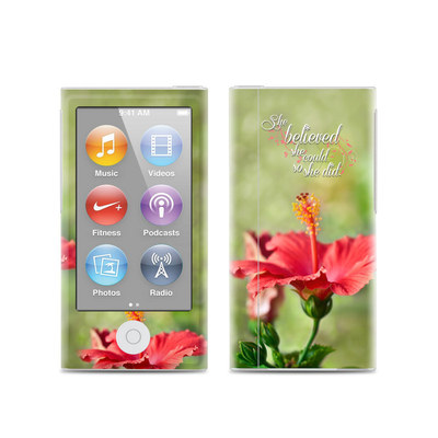 Apple iPod Nano (7G) Skin - She Believed