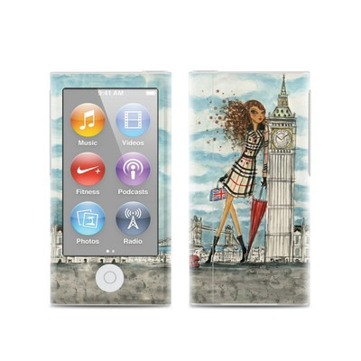 Apple iPod Nano (7G) Skin - The Sights London