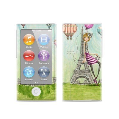 Apple iPod Nano (7G) Skin - The Sights Paris