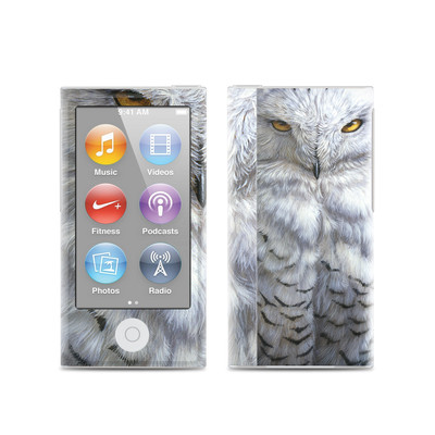 Apple iPod Nano (7G) Skin - Snowy Owl