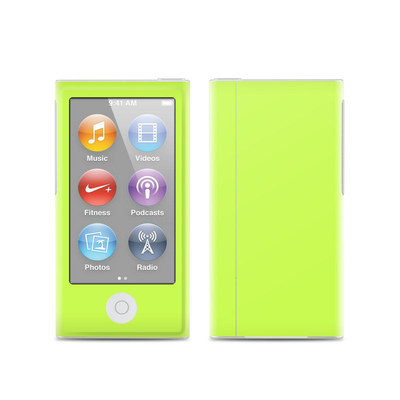 Apple iPod Nano (7G) Skin - Solid State Lime