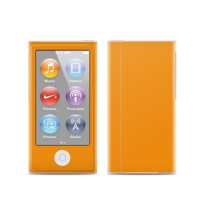 Apple iPod Nano (7G) Skin - Solid State Orange