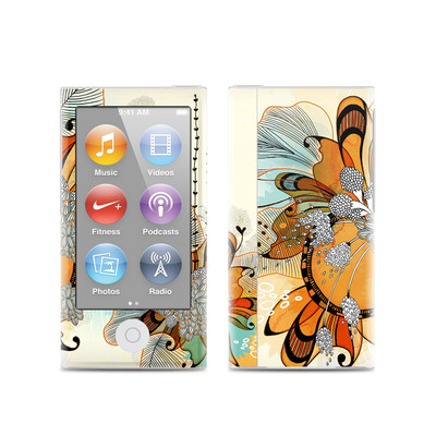 Apple iPod Nano (7G) Skin - Sunset Flowers