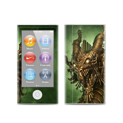 Apple iPod Nano (7G) Skin - Steampunk Dragon
