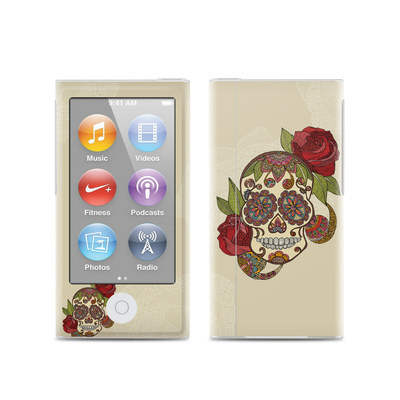 Apple iPod Nano (7G) Skin - Sugar Skull