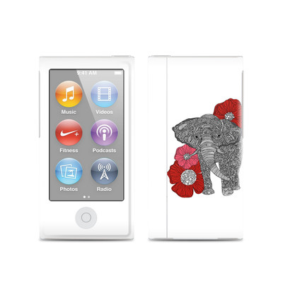 Apple iPod Nano (7G) Skin - The Elephant