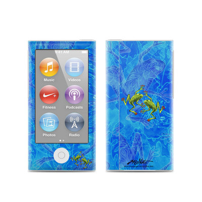 Apple iPod Nano (7G) Skin - Tiger Frogs