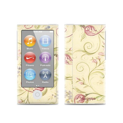 Apple iPod Nano (7G) Skin - Tulip Scroll