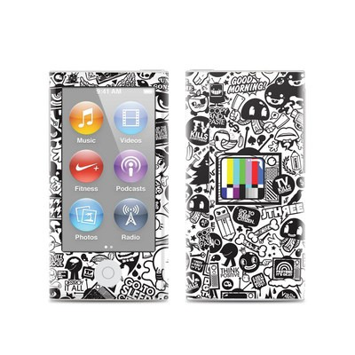 Apple iPod Nano (7G) Skin - TV Kills Everything