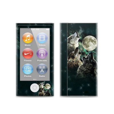 Apple iPod Nano (7G) Skin - Three Wolf Moon