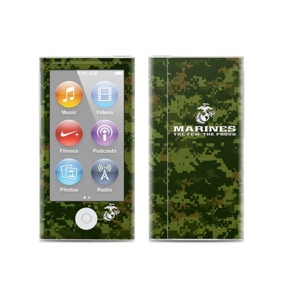 Apple iPod Nano (7G) Skin - USMC Camo