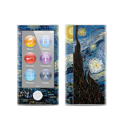 Apple iPod Nano (7G) Skin - Starry Night