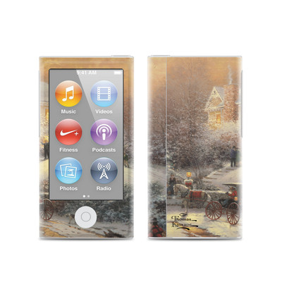 Apple iPod Nano (7G) Skin - Victorian Christmas