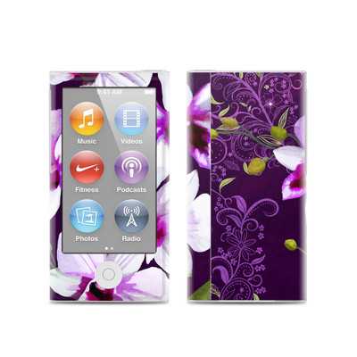 Apple iPod Nano (7G) Skin - Violet Worlds