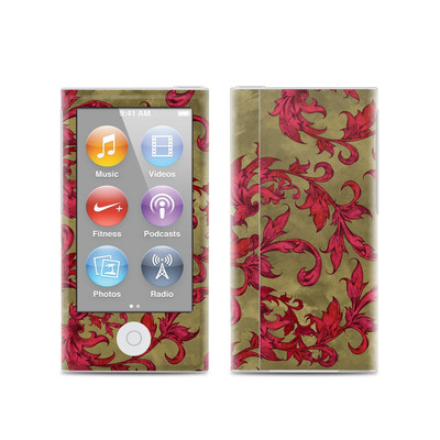 Apple iPod Nano (7G) Skin - Vintage Scarlet