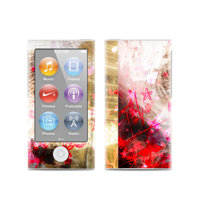 Apple iPod Nano (7G) Skin - Woodflower