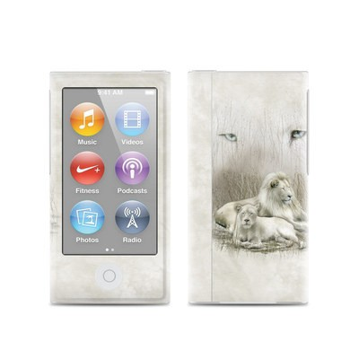 Apple iPod Nano (7G) Skin - White Lion